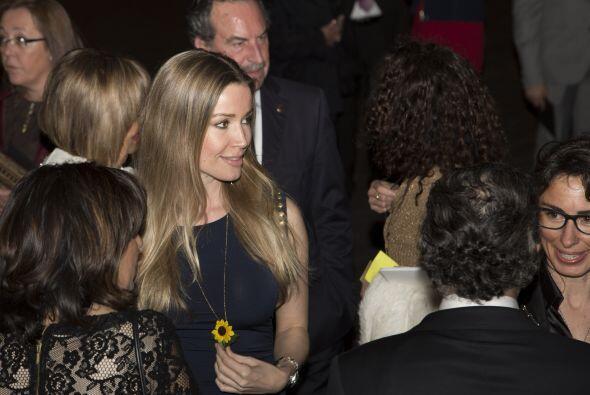 Antonio Banderas y Nicole Kimpel en la gala.