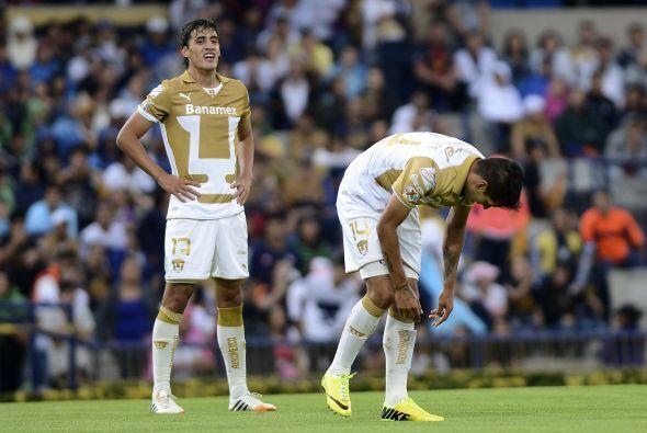 En el Clausura 2014 los felinos iniciaron con una victoria, un empate y...