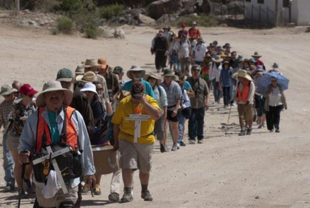 Cincuenta activistas de Estados Unidos, Canadá, Centroamérica y México,...