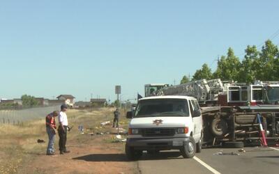 Aparatoso accidente deja un saldo mortal en Rancho Cordoba