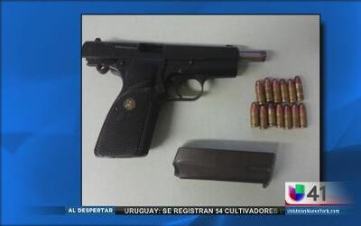 Arrestan a hispano con arma robada