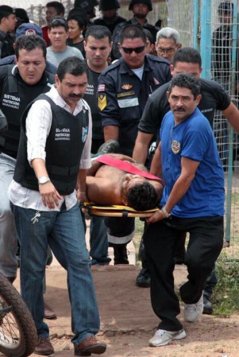 El martes, otro motín concluyó con la muerte de 18 prisioneros, entre lo...