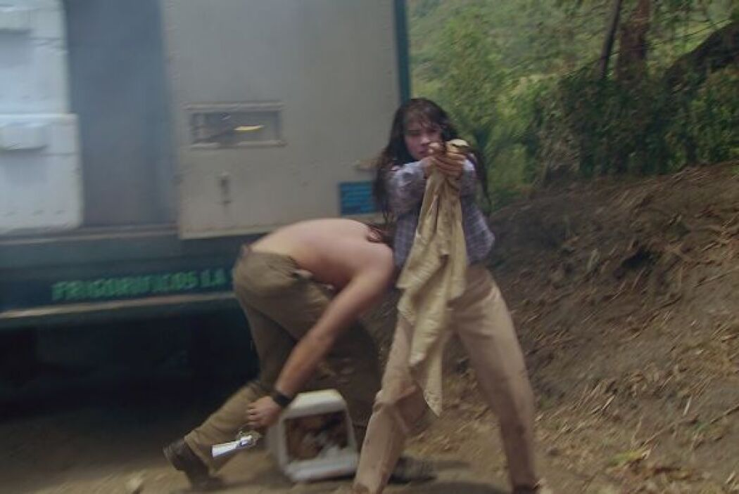 Griselda no está dispuesta a ser capturada y se enfrenta a sus cazadores...