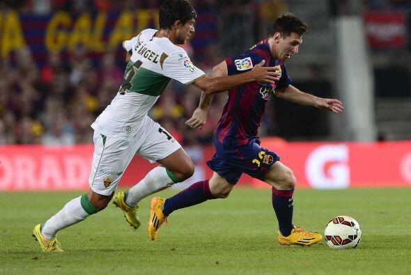 Lionel Messi sigue siendo el estandarte del barcelonismo, aunque en un p...