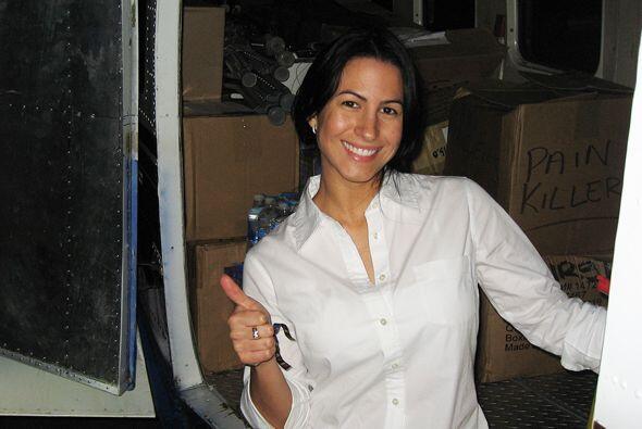 Nuestra Senadora de la República, Alba, estuvo ayudando a las víctimas d...