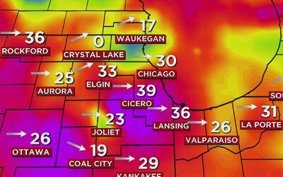 Alerta de fuertes ráfagas de viento en Chicago