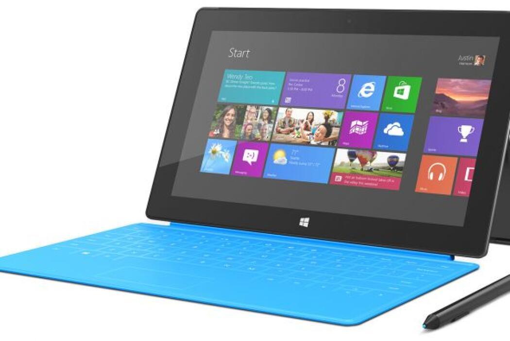 Surface RT: con 32GB de memoria, pantalla de 10 pulgadas, 2G RAM y siste...