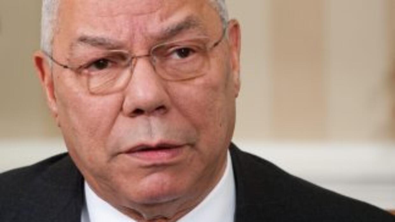 Antes de retirarse, Colin Powell fue tan popular que muchos pensaron que...