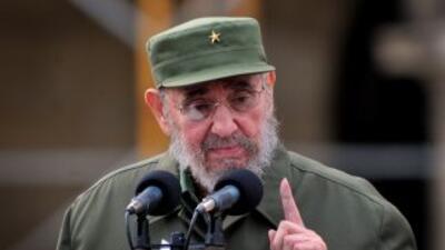 La presencia de Fidel Castro en el 50 aniversario de los Comités de Defe...