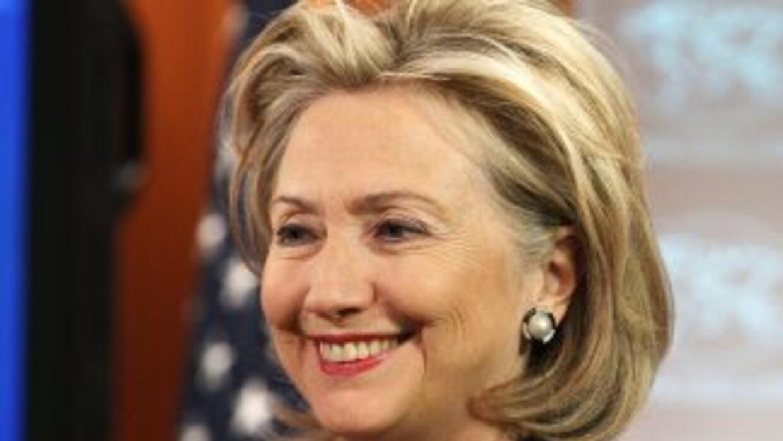 La jefa de la diplomacia estadounidense, Hillary Clinton, juega un papel...