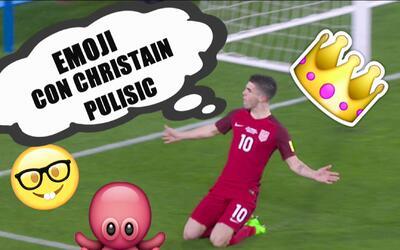 Christian Pulisic se divirtió con los emojis y definió a sus compañeros...