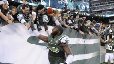 Muhammad Wilkerson tuvo una gran temporada con los Jets (AP-NFL).