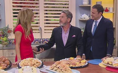 Recibimos a Ricardo Montaner por todo lo alto con comida de Venezuela y...