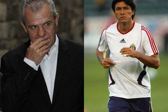 Claudio Suárez Vs. Javier Aguirre.Previo al Mundial del 2002, Cla...