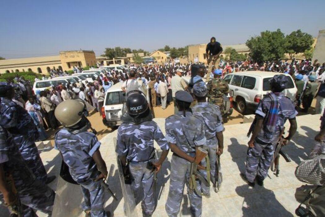 Sudan. La situación es tan mala en Sudan, que la Corte Internacional Cri...