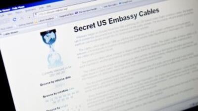 El portal de WikiLeaks, que divulgó miles de documentos secretos del gob...