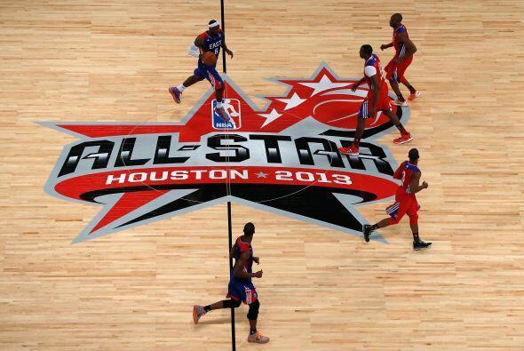 La duela se veía espectacular y más con las grandes estrellas de la NBA...