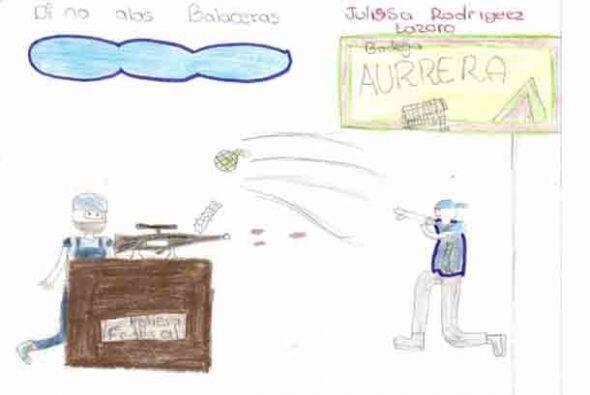 Los niños de un estado en el oeste de México asediado por la violencia d...