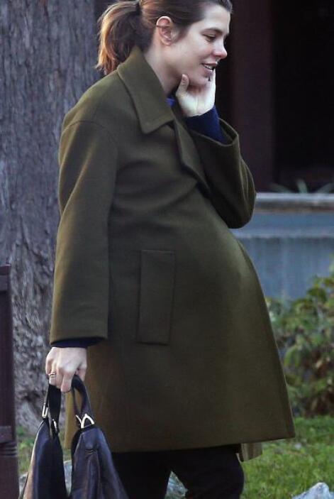 Así la vimos unos días antes de dar a luz. Más videos de Chismes aquí.