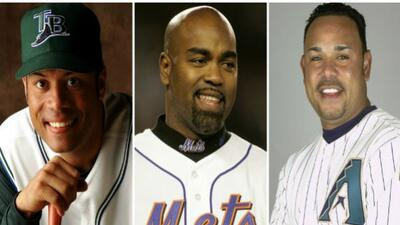 Algunas estrellas de las Grandes Ligas, como Roberto Alomar, Carlos Delg...