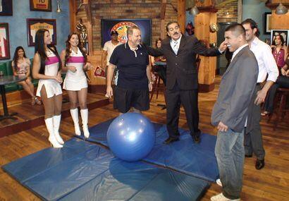 Aquí estamos cuando el Gordo de Molina trajo su dieta al show.
