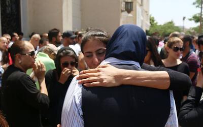 El dolor de los familiares de los pasajeros del vuelo de EgyptAir