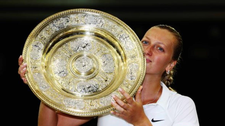 Reina en Wimbledon.