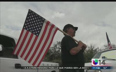 Antiinmigrantes aseguran que reclutarán personas para vigilar la fronter...