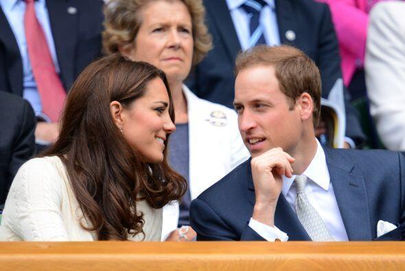 William y Catherine apoyaron al local Andy Murray.