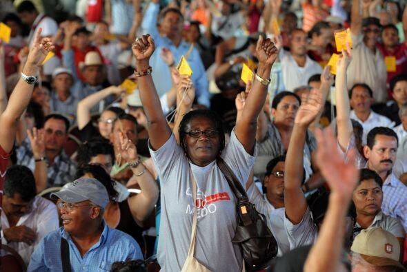El retorno del presidente derrocado a Honduras está previsto para antes...