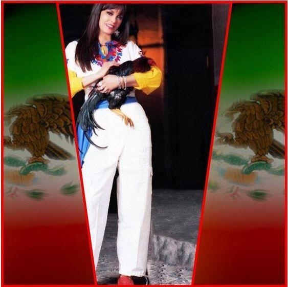 Lucía Méndez apareció con una foto cargando un gall...