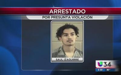 Adolescente bajo arresto por violación
