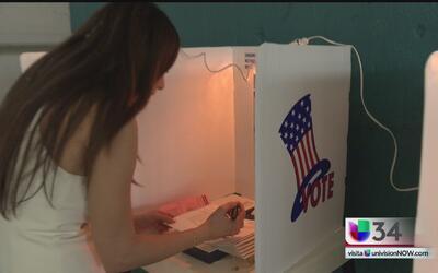 El primer voto de Stephanie Bradford
