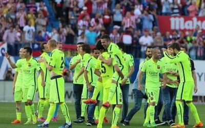 El conjunto azulgrana venció por la mínima al Atlético y se coronó campe...