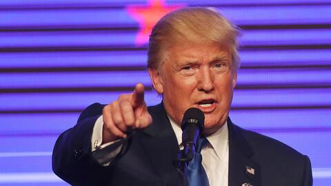 Trump hablando en un mitin en Miami, 16 de septiembre de 2016.