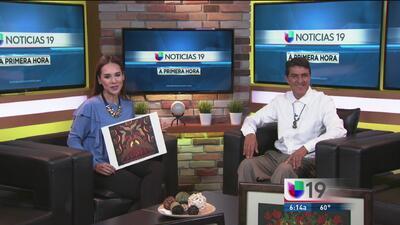 El artista mexicano Ramón Moreno nos invita a su exposición en Stockton