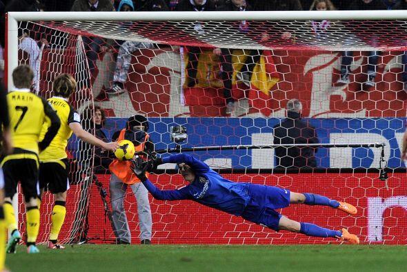 Cuando parecía que el Atlético podía mantener ese r...
