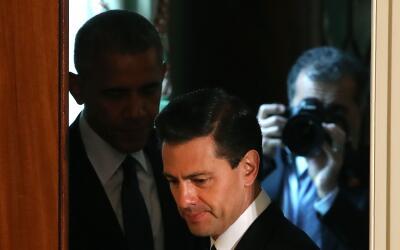 Obama destacó que un México fuerte es más beneficioso para EEUU que un m...