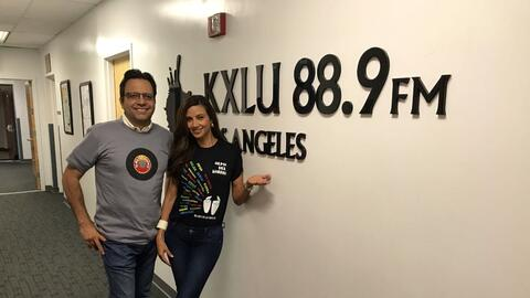 Omar y Argelia - LMU KXLU 88.9FM