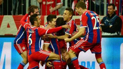 El Bayern acabó con las críticas y especulaciones de su baja de juego po...