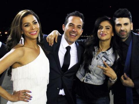 Lourdes, Carlos, Jomari y Jessica hicieron su primer viaje juntos a M&ea...