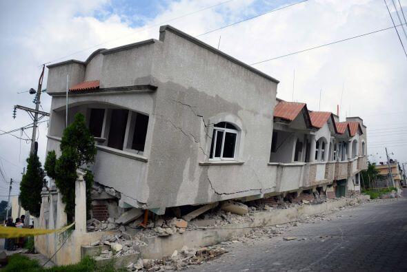 Ante los daños y las pérdidas, el presidente de Guatemala,...
