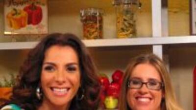 Maggie con Aliza Stern