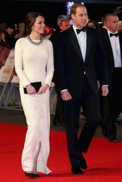 Los duques de Cambridge asistieron a la premiere de la película '...