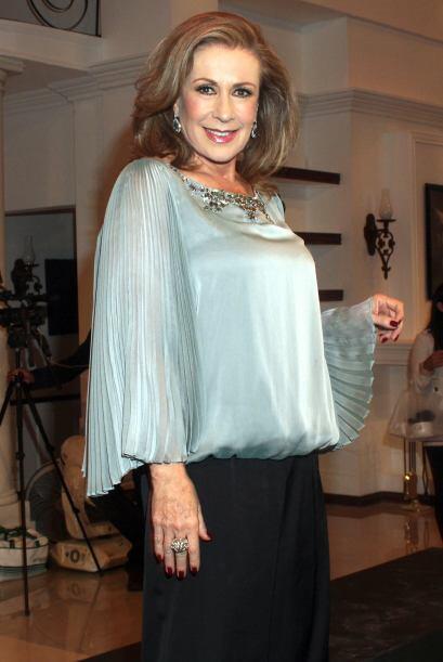 Laura Zapata es una experta en las maldades de telenovela y esta vez su...