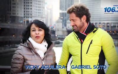 Gabriel Soto habla con Vicky sobre su nueva novela