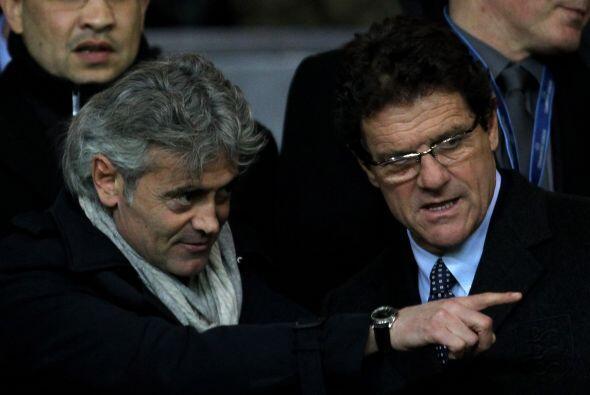 Entre los asistentes estaba el italiano Fabio Capello, técnico de la esc...