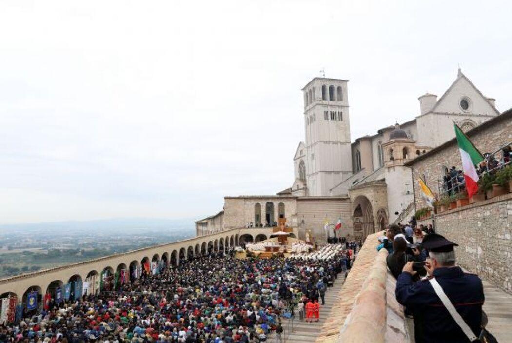 Desde que asumió el Trono de San Pedro, el Papa Francisco deja, en palab...