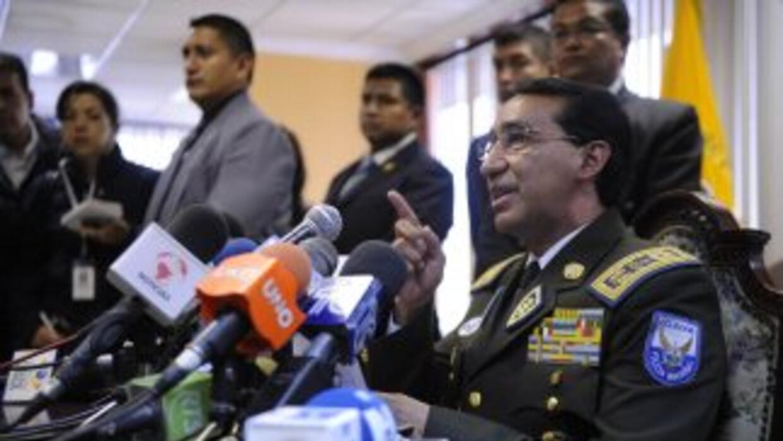 Freddy Martínez, renunció como jefe de la policía de Ecuador.
