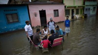 En Venezuela se ha declarado estado de emergencia ante las inundaciones...